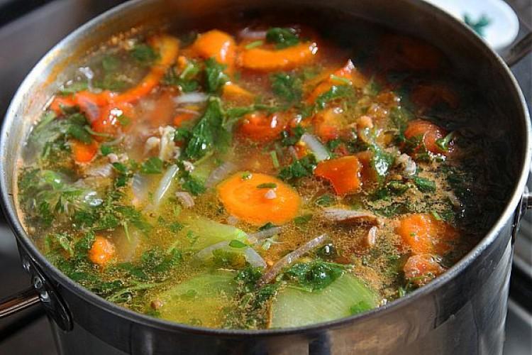 Готовим мясной суп