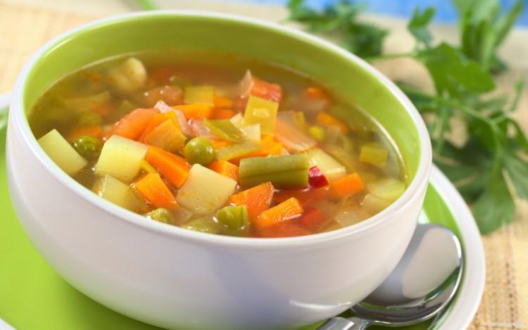Полезный овощной суп