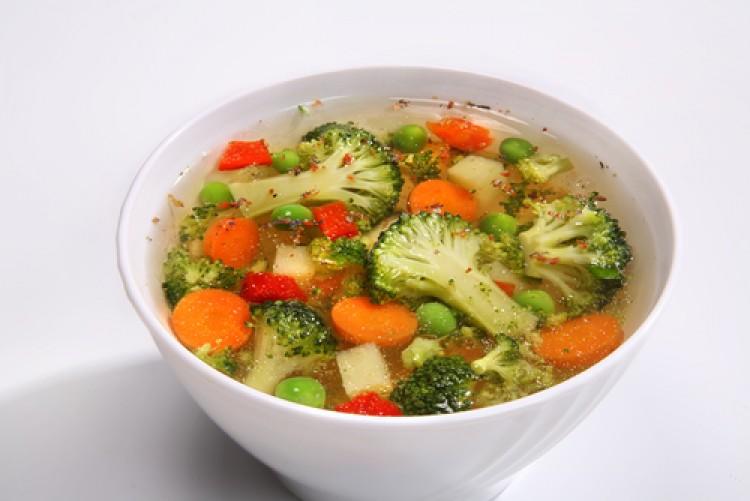 Вкусный суп с брокколи