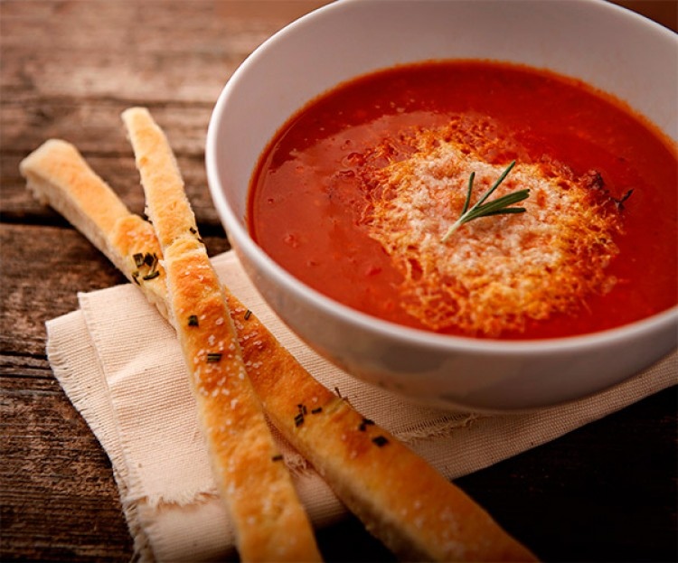 Польза томатного супа-пюре