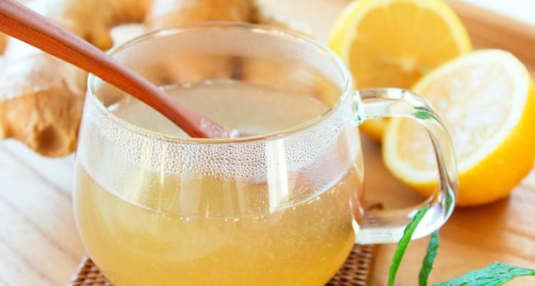 Вкусный лимонный квас