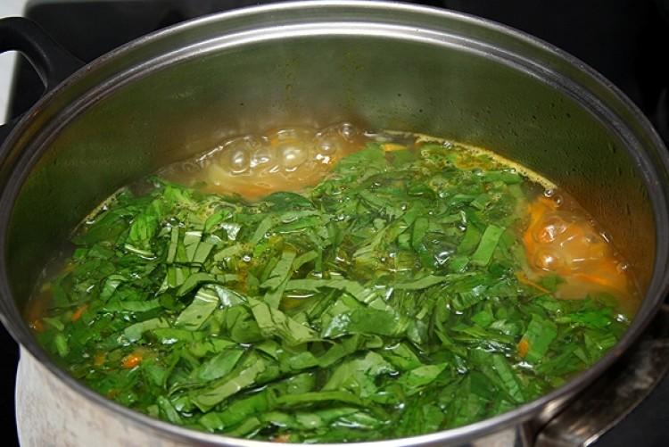 В этом разделе представлена калорийность щавелевого супа в различных вариантах приготовления, а также содержание белков, жиров и углеводов.