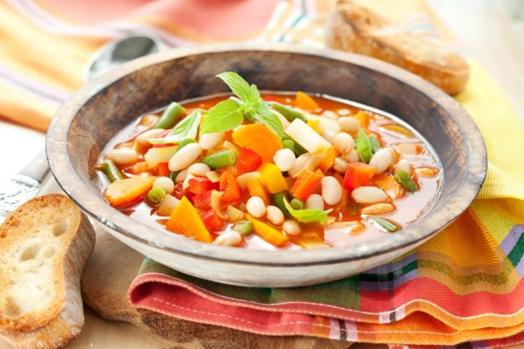 Вкусный итальянский суп