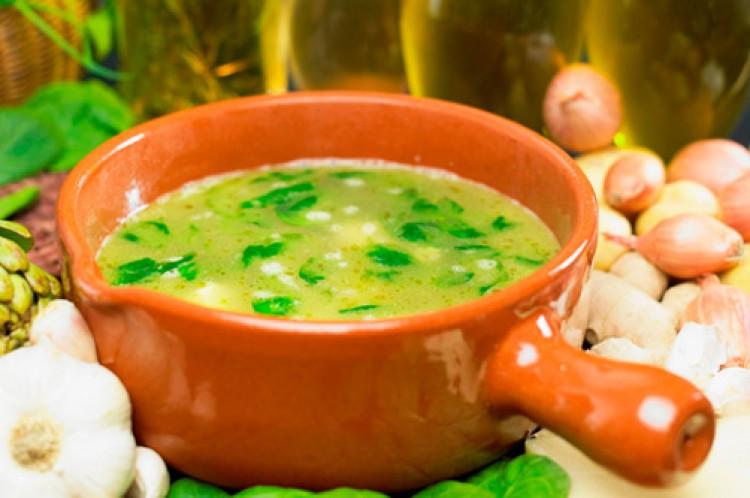 Вкунсый луковый суп для похудения