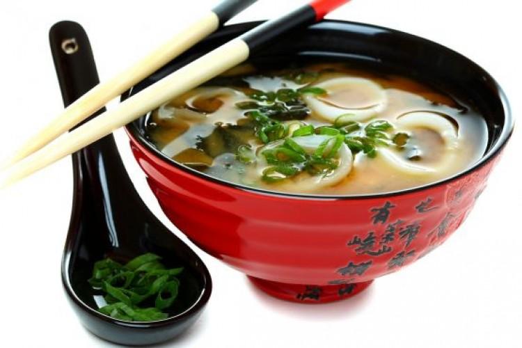 Вкусный суп мисо