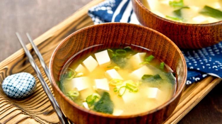 Вкусный мисо-суп