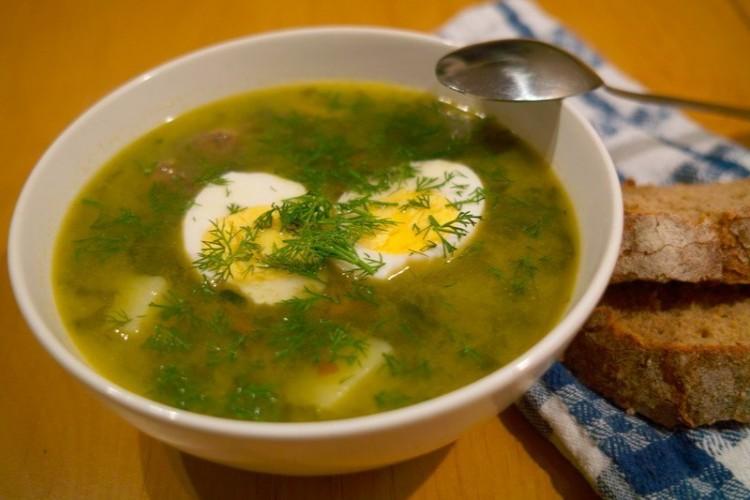 Щавелевый суп в мультиварке рецепт с фото