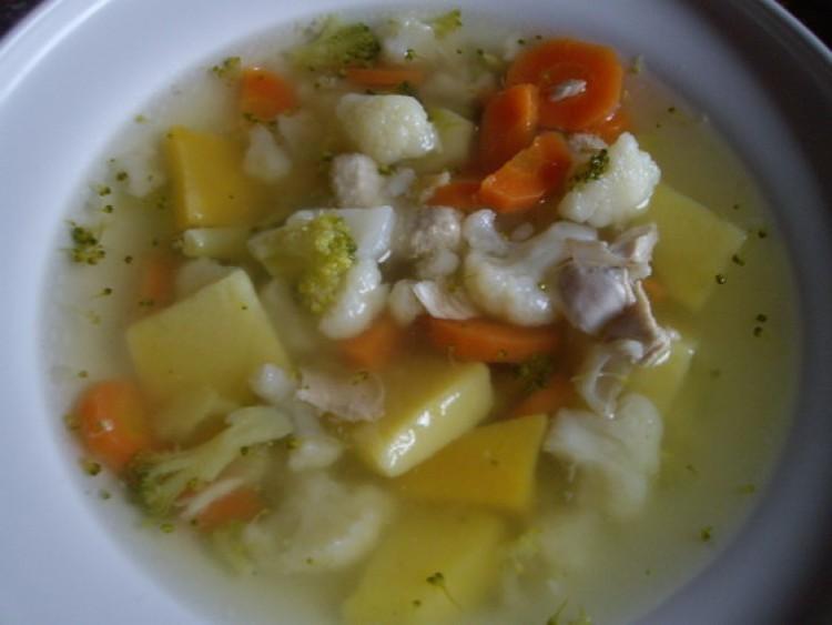 Куриный супчик с овощами