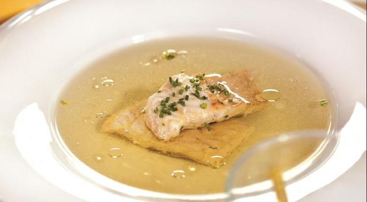 Вкусный рыбный бульон
