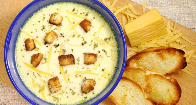 Очень вкусный сырный супчик