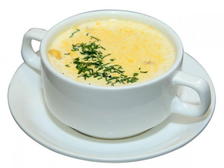 Вкусный сырный супчик