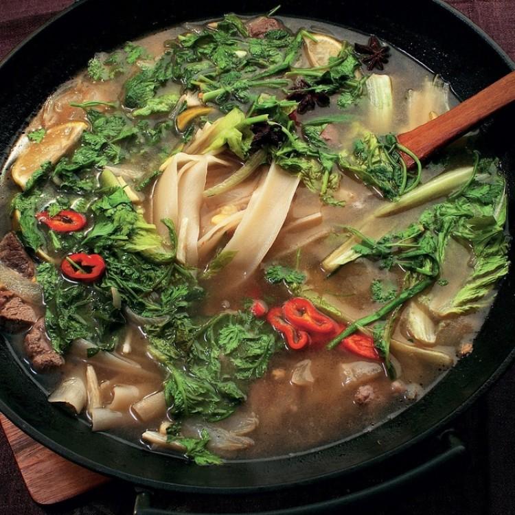 Вкусный суп с бараниной