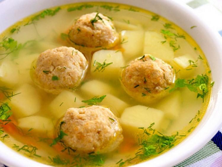 Вкусный и постой суп