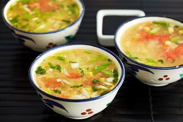 Вкусный суп с галуками