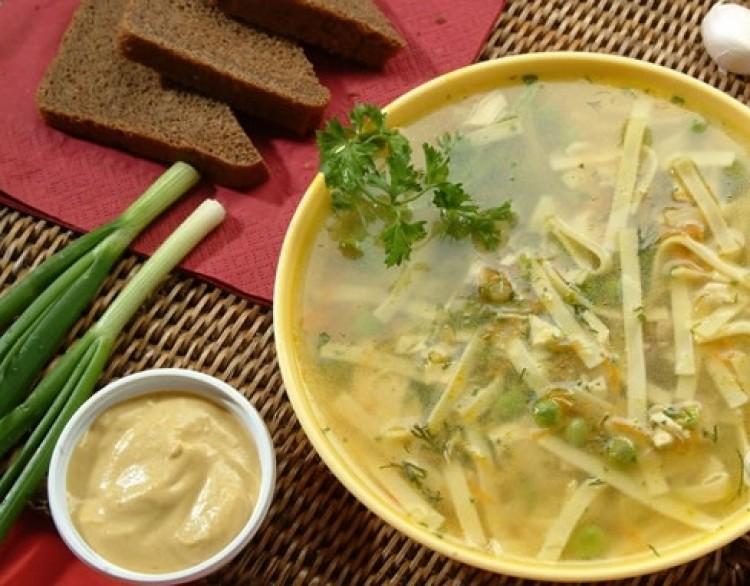 Вкусный татарский суп