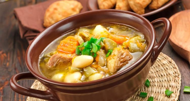 Очень вкусный мясной суп