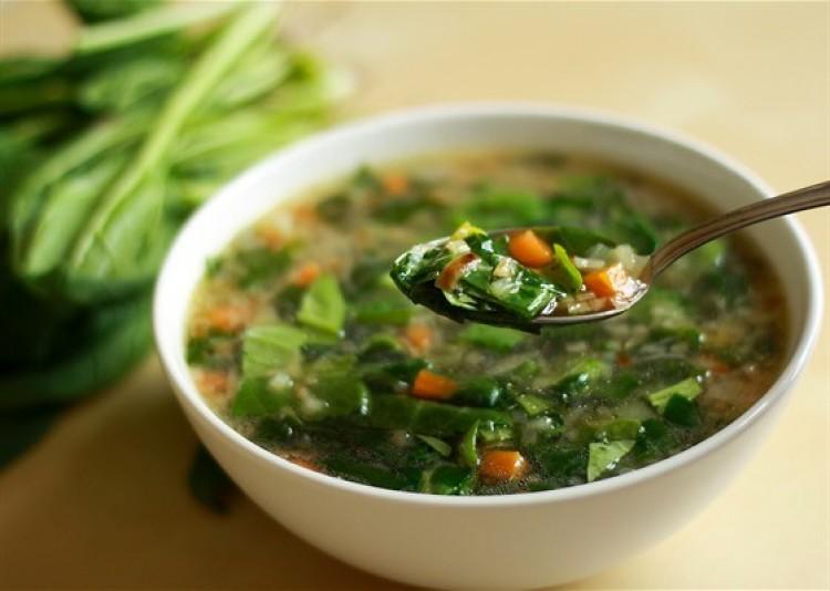 Очень вкусный суп с щавелем