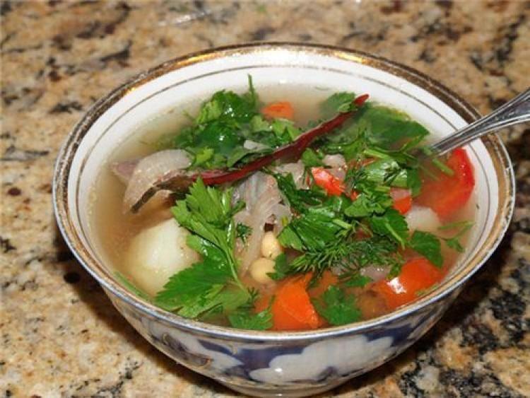 Суп узбекский