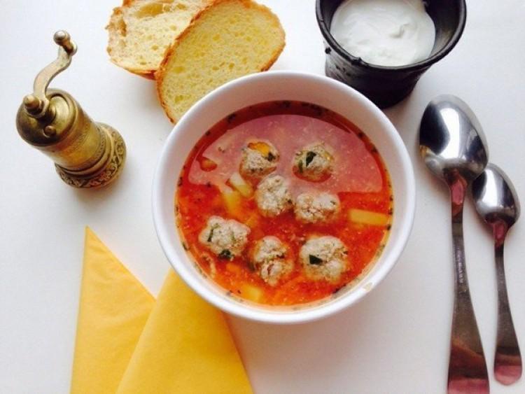 Очень вкусный и насыщенный суп