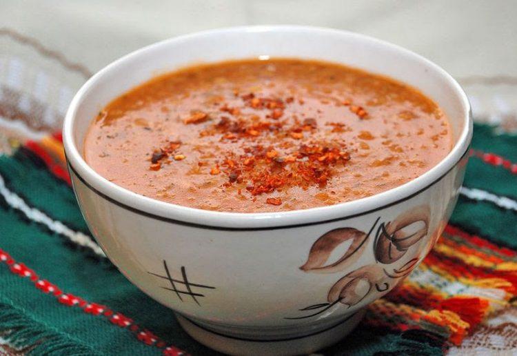 Вкусный турецкий суп