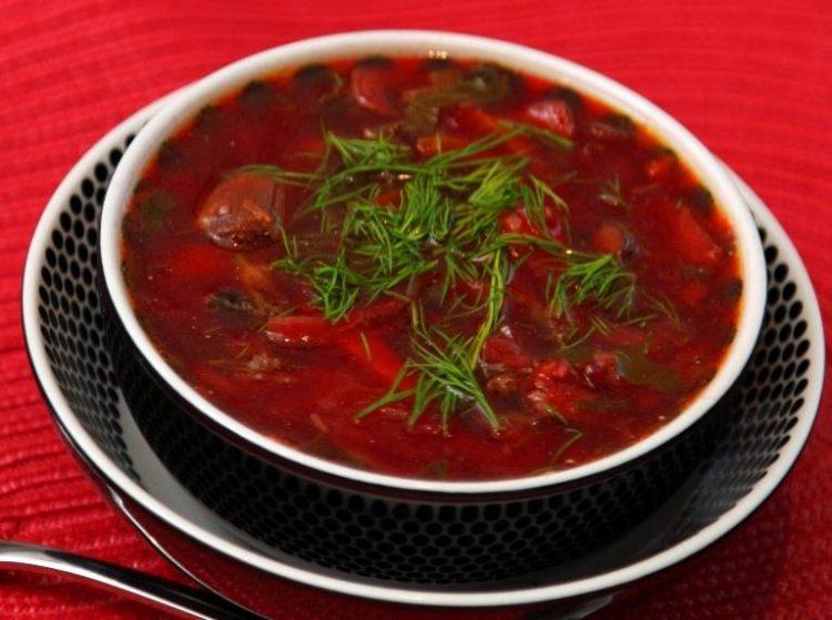 Как приготовить суп борщ рецепт обычный