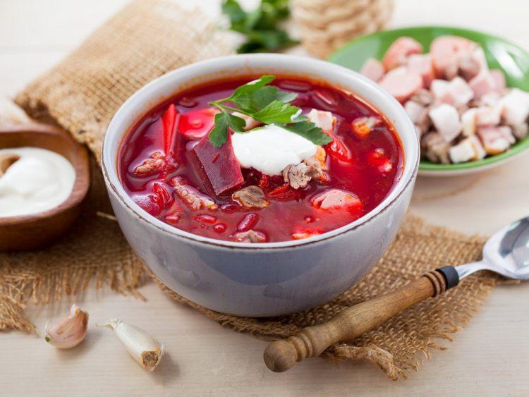 Вкусный борщ по белорусски