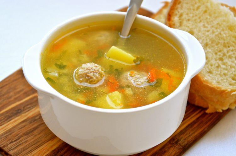 Лёгкий детский суп