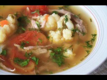 Суп диетический