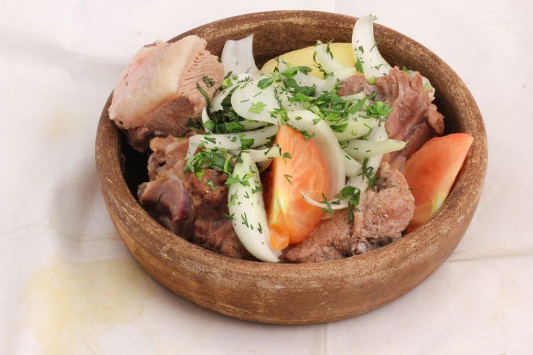 Вкусная хамала с бараниной