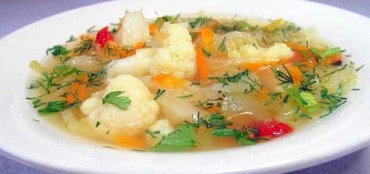 Вкусный жирозжигающий суп