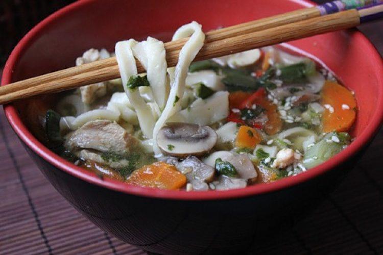 Вкусный китайский суп