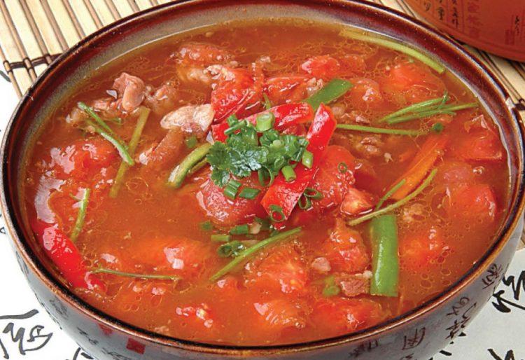 Томатный суп с говядиной рецепт с фото
