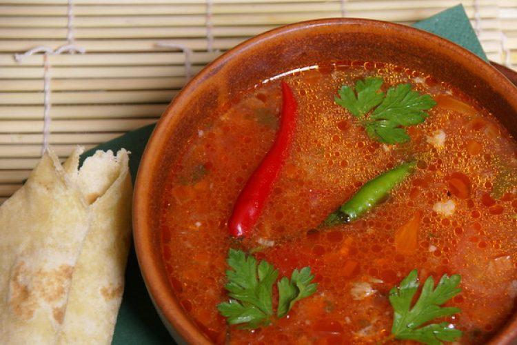 Вкусный пряный суп