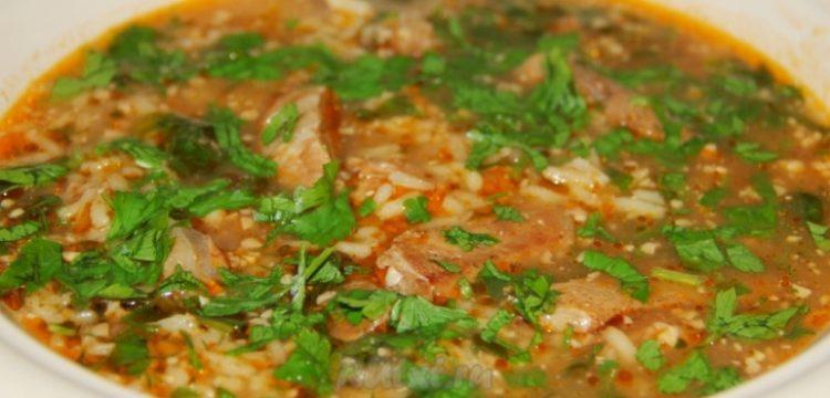 Рецепт вкусного супа харчо