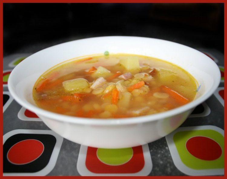Вкусный суп гороховый