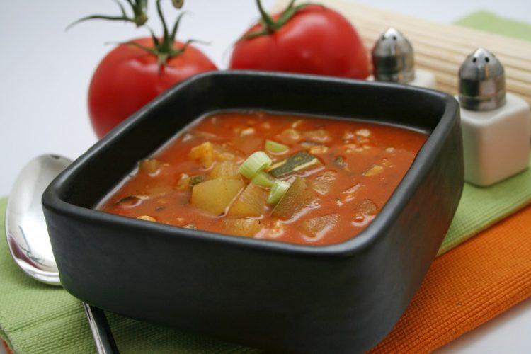 рецепт супа из шпината вегетарианский