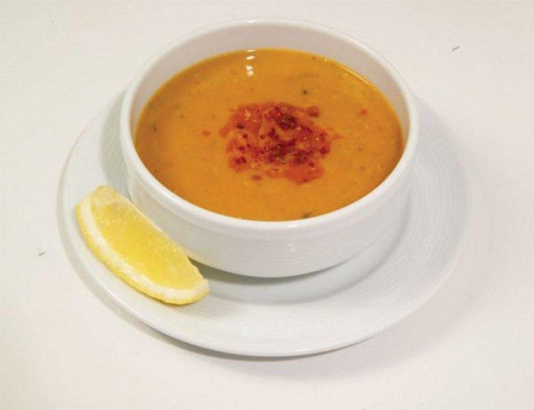 Вкусный суп-пюре из чечевицы