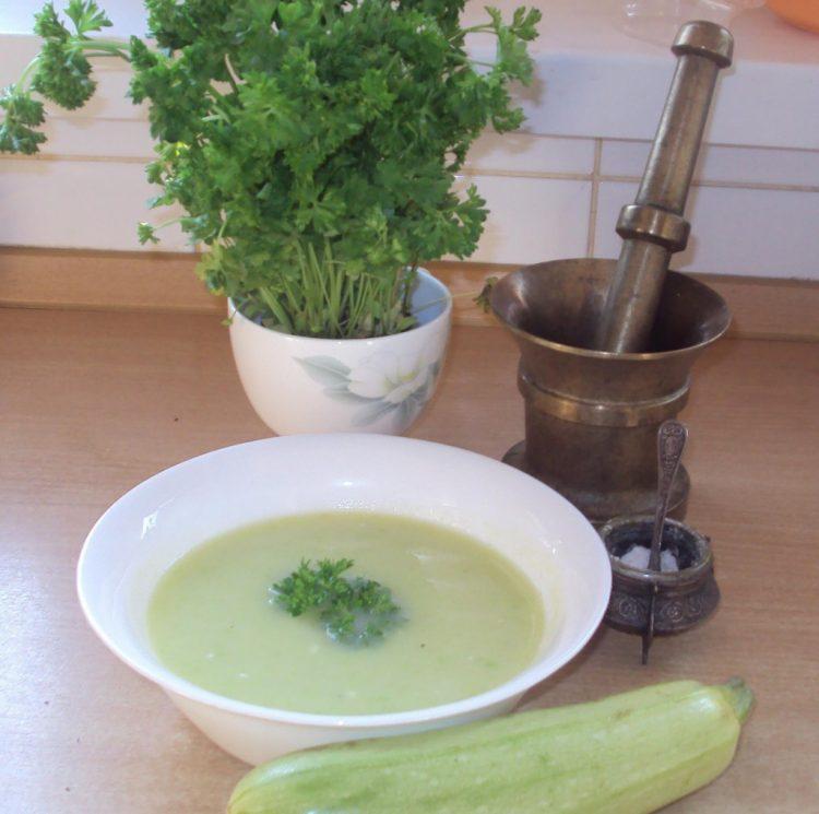 Вкусный суп-пюре из кабачков
