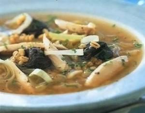 Вкусный суп с черносливом