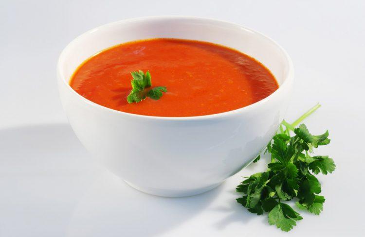 Вкусный суп с томатов