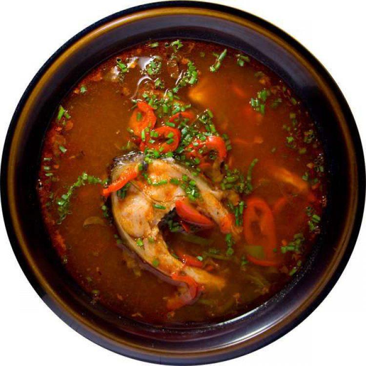 Очень вкусный рыбный суп
