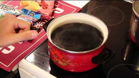 Вкусный суп с колой