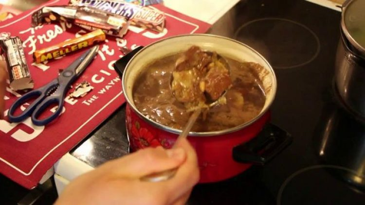 Суп с кока-колой