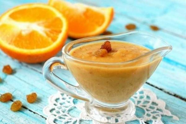 Рецепт апельсинового соуса