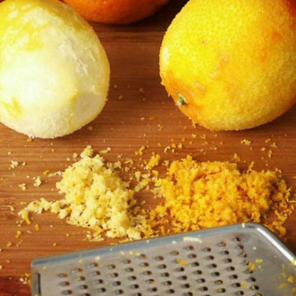 Цедра лимона и апельсина