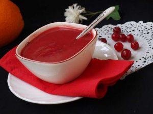 Рецепт клюквенного соуса