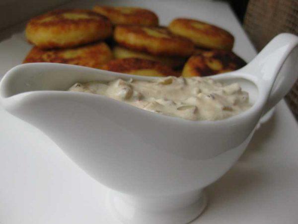 Соус к картофельным катлетам