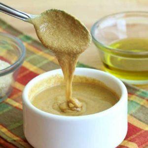 Кунжутный соус на масле