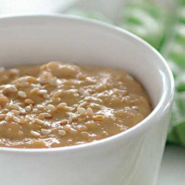 Кунжутный соус пошагово