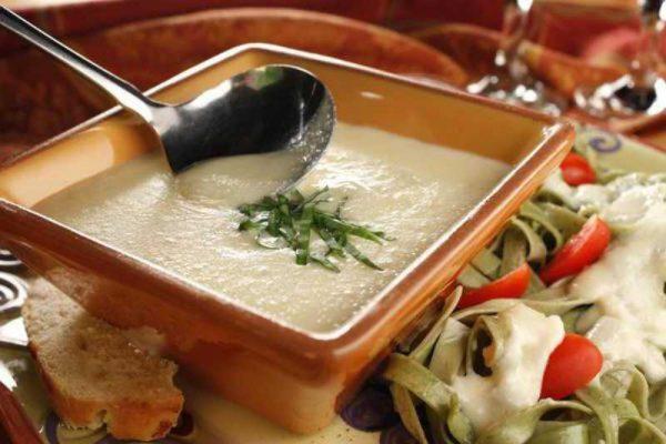 Приготовление соуса Альфредо